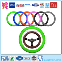 Custom Silicone Steering Wheel Cover/Car Accessories