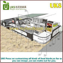 Good quality food kiosk with factory price is hitting the world market