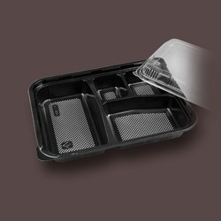 2015 new design food plastic packing box