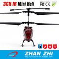 Volar helicópteros de juguete con R / C 3CH aleación, giroscopio y las luces LED de colores para el vuelo nocturno en helicópter