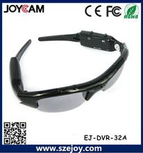cámara de las gafas de sol de deportes HD con control remoto