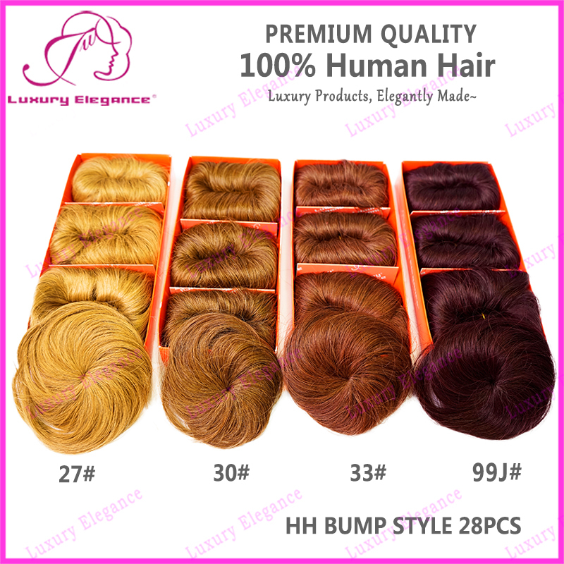 Real Brazilian Human Hair 27 Piece Hair Weaving Color Short Factory