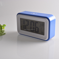 Innovation table clock calendar with temperature and snooze for gifts