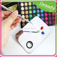 EH033 New Professional Stainless Steel Cosmetic Make Up Palette Spatula