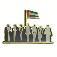 Custom UAE National Day souvenir Magnetic Metal Lapel Pin