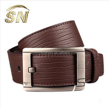 classic pin buckle belts strap genuine leather belts for men