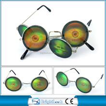 Fashionable Trend Vintage round shape frame lens with devil pattern(BSM3981)