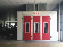 QX500 CE Approved Infrared Cabinet Spray Booth For Used Car Using