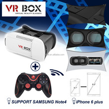 """2015 VR BOX 3D Glasses with Gamepad for 3D Moives And Games Support 4.7"""" - 6.0"""" Phone"""