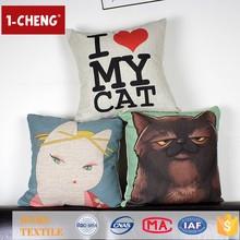 Hot Sale Fashion Cute Love Printing Designs Cushion Home Decor Throw Pillow Anti Slip Sofa Cushion Cover