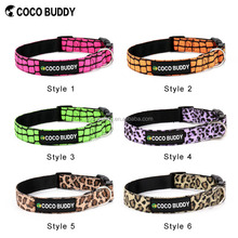 Different designs Canvas Pet Dog Collars (more than 100 patterns), OEM
