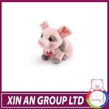 high quality extreme custom aniaml bag plush pink pig backpack