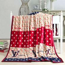 wholesale fashion mink blanket polyester blanket