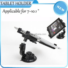 Tabelt holder with high quality suction cup flexible use in car tablet holder
