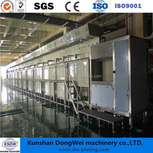 PCB plating electroplating machine chrome plating line