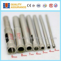 Stable performance diamond glass drill bit / drill ceramic porcelain tile
