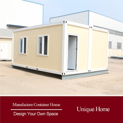 Panelized Living Designed prefab cabin container house sell in africa