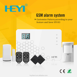 Smartphone APPs GSM Wireless Alarm System with IP Camera Optional