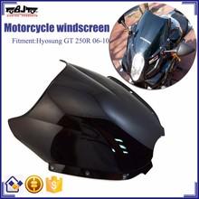 BJ-WS-GT250 Motorcycle Windshield Windscreen for Hyosung GT 250R 06-10
