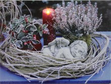 CE Certified! 2015 lastest painting of angel with led light for holiday gift cheap china wholesale