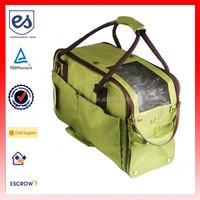 High Quality Pet Carrier Bag Canvas Travel Bag (ESB-CB035)