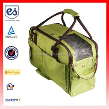High Quality Pet Carrier Bag Canvas Travel Bag (ESB-CB035)