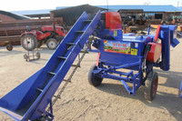 corn maize threshing machine