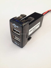 Universal car usb 5v Charger for Toyota Vigo, Mazda, Nissan, Honda, Suzuki and Mitsubishi