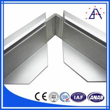 DIN Standard Brushed Aluminum Picture Frame