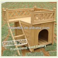 SDD01 wooden kennel runs