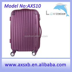ABS 3 pcs set eminent aircraft colorful kids hard shell luggage girls hard shell luggage