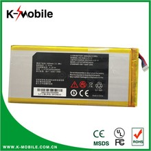 Wholesale Tablet Battery V72a Li3734T42P5hC66045 made in china For ZTE