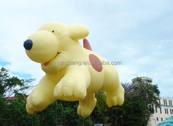 custom helium cute inflatable giant puppy, inflatable spot the dog for parade