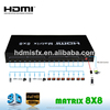 8x8 HDMI HDTV MATRIX ROUTING SELECTOR SWITCHER 3D SELECTOR CONTROL4 NEW IN BOX