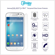 Full Cover 0.3mm 2.5D 9H Tempered Glass Screen Protector for Galaxy S4mini