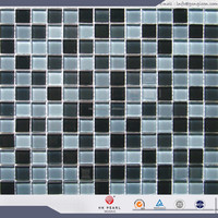 Lowest price building construction material glass mosaic