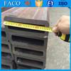 Tianjin square rectangular pipe ! cheapest rec steel pipe best price en 10210 s355j2h steel pipe