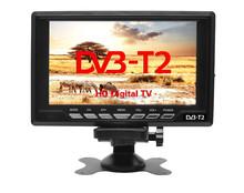 4K/8K/H.265 9-12V DC 7.5 inch portable TV with built-in tunner DVBT,DVB-T,DVB-T2 transmitter receiver built-in digital TV w