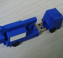 blue truck shape usb stick ,pvc usb drives,mini usb