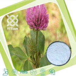 Halal Kosher Certified Red Clover Extract Isoflavone Powder