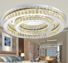 Unique ceiling crystal light, factory-outlet crystal ceiling lamp silver