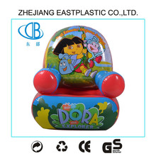 Colorful cartoon durable kids air sofa/inflatable air sofa