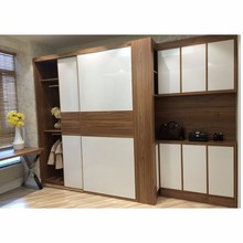 bedroom melamine closet designs
