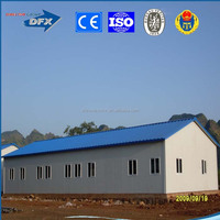 China low cost mobile steel frame prefab simple homes house labor camp building