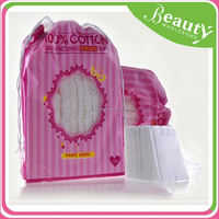 NK072 200 sheet square cosmetic cotton pad