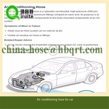 R134a AC Hose Reduced Barrier Car Air conditioning rubber Hoses