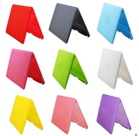 Matte Surface Full Protective Plastic Laptop Cover Hard Case for MacBook Pro 13.3(Pink)