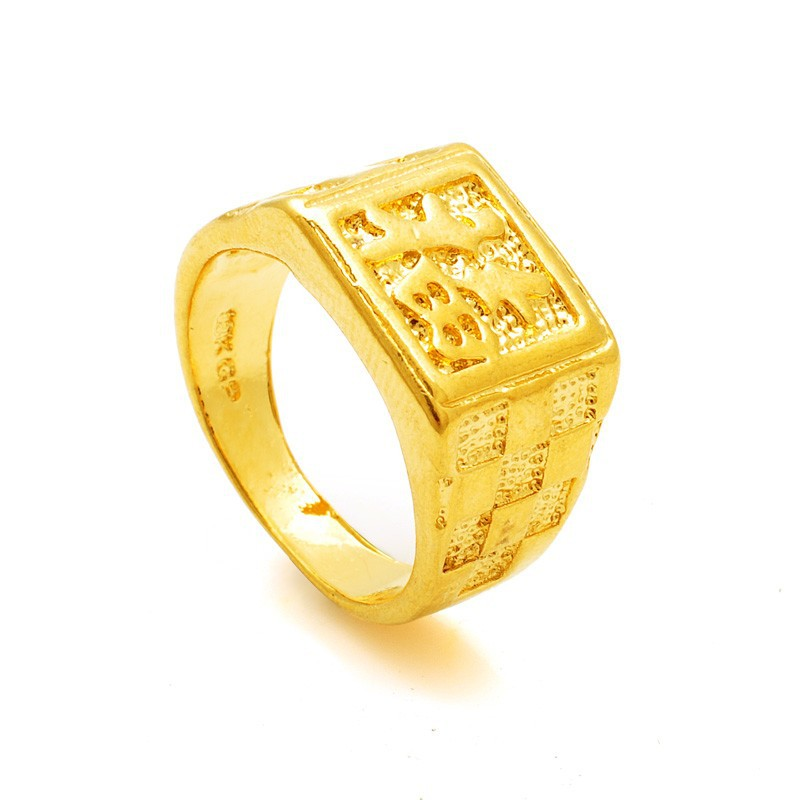 the gallery for gt gold fashion rings for men
