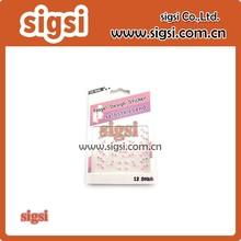 custom design self adhesive flower sticker mobile phone sticker