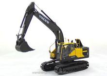 1:50 scale Volvo ec220e diecast excavator model, diecast construction model
